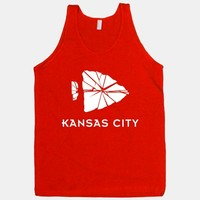 Geometric Kansas City Football