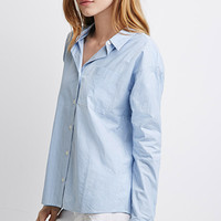 Pin-Striped Dolman Shirt
