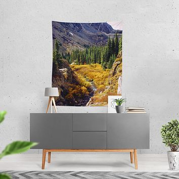 Nature Wall Tapestry - 4 Sizes - Colorado Autumn Forest
