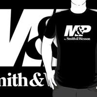 #th Smith and Wesson M&P black t-shirt