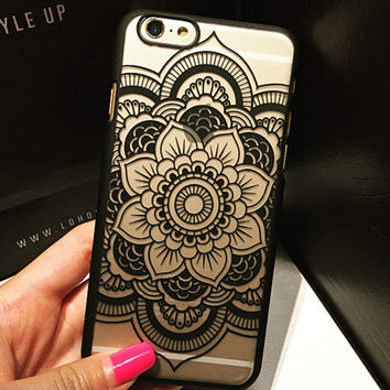 Womens Lace Floral iPhone 5 5s iPhone 6 6s Plus Case Cover Free Shipping