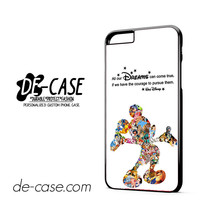 Walt Disney Quote Mickey Mouse Character DEAL-11809 Apple Phonecase Cover For Iphone 6/ 6S Plus