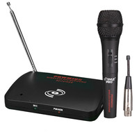 Pyle Dual Function Wireless-Wired Microphone System