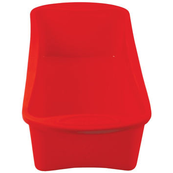 "Orka 11.5"" Silicone & Nylon Loaf Pan (red)"
