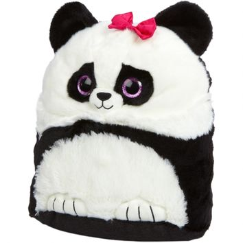 Sparkly Eye Square Panda Pillow | Girls Stuffed Animals Room, Tech & Toys | Shop Justice
