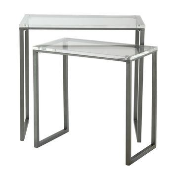 Set of Two Nesting Tables