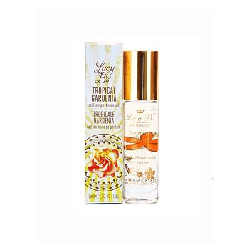 LUCY B.'S TROPICAL GARDENIA ROLL-ON PERFUME