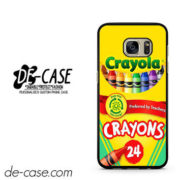 Crayola Crayons Colorful DEAL-2841 Samsung Phonecase Cover For Samsung Galaxy S7 / S7 Edge