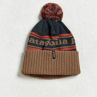 Patagonia Powder Town Pom Beanie | Urban Outfitters