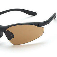 Radian Crossfire Talon Safety Glasses Protect Eyewear HD Brown Lens 126 ANSI Z87