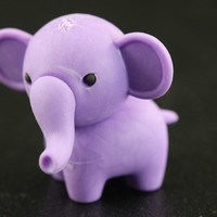 Purple Elephant Eraser Series Two