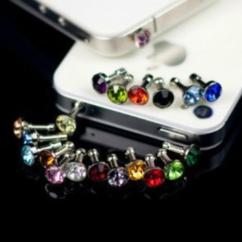 10 pcs Anti Dust phone accessories earphone Stopper jack For Iphone dust plug for iphone 6/6plus for samsung/HTC