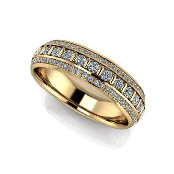 Men's Diamond Wedding Band 1.42 CTW