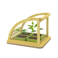 Hape Eco Greenhouse In Bamboo