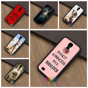 Game of Thrones I'm Not a Princess I'm a Khaleesi case for samsung galaxy S3 S4 S5 S6 S6 edge S7 S7 edge Note 3 4 5 #LI5159
