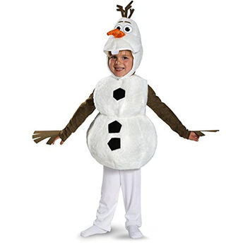 Disguise Boys & Girls Olaf Halloween Party Costume Set