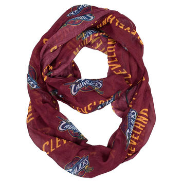 Cleveland Cavaliers NBA Sheer Infinity Scarf