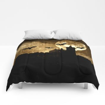 Bat's hour Comforters by Pirmin Nohr