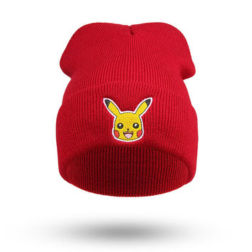Fashion Cartoon Hats Winter Women Men Unisex Hat Caps Beanies Couples Knitted Hiphop Casual Skullies KH866395