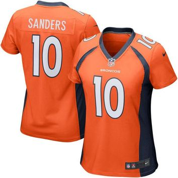 Girls Youth Denver Broncos Emmanuel Sanders Nike Orange Game Jersey
