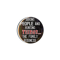 Supernatural Family Business Pin