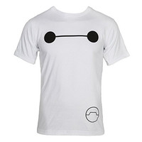 Big Hero 6 Baymax Eyes Adult T-Shirt