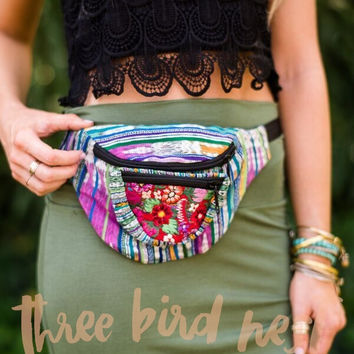 Hip To It Embroidered Fanny Pack