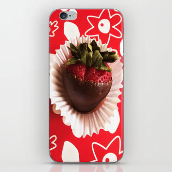 Strawberry Dream iPhone & iPod Skin by LadylikeFantasy Artwork