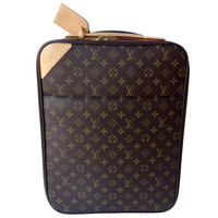 Louis Vuitton Pegase 45 Monogram Rolling Travel Bag Suitcase
