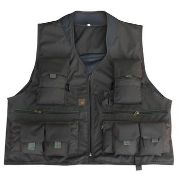 Summer Autumn thin Multifunctional Vest With Many Pockets Outdoor Clothing for Men and Women Photo Jacket Clothing Waistcoat