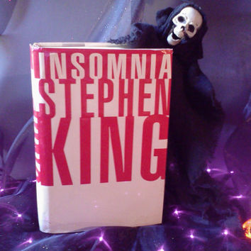 Stephen King Novel INSOMNIA Horror Fiction Hardback Book Viking Halloween Reading Spooky Story