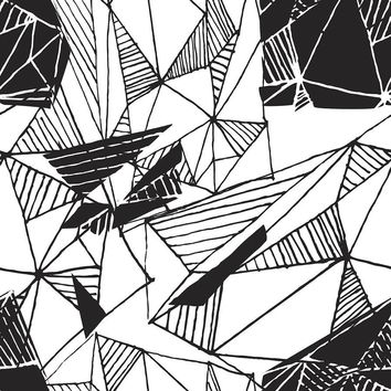 Hand Drawn Pattern Removable Wallpaper