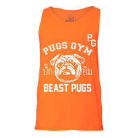 Beast Pugs Tank, Tank top, Pug Tank, Workout Clothing, Gym Tank Top