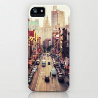 New York City - Summer Street iPhone & iPod Case by Vivienne Gucwa