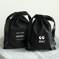 2NUL Life and travel secret drawstring small pouch ver.2
