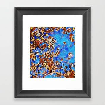 musik 2 Framed Art Print by Kathead Tarot/David Rivera