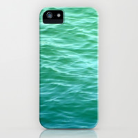 Teal Sea iPhone & iPod Case by Lisa Argyropoulos