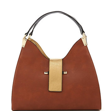 Kate Landry Colorblocked Meringue Hobo Bag | Dillards