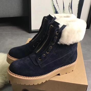 UGG Women Casual Low Heeled Shoes Boots-2