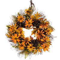 Black Eyed Susan & Pinecone Wreath | Hobby Lobby | 5139530
