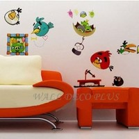 Angry Birds Peel and Stick Wall Decals stickers Nursery Kids Room home decor
