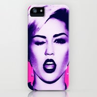 Miley Cyrus 3 iPhone & iPod Case by DesignPassion