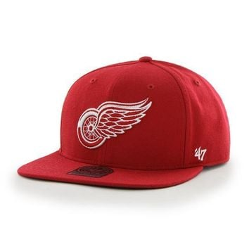 NHL Detroit Red Wings The Shaft Strapback Hat