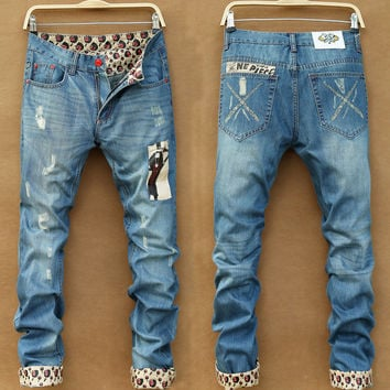 Mens Cool Ankles Jeans