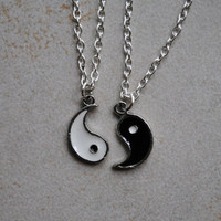 Yin Yang Friendship Necklace