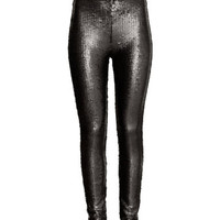 H&M Sequined Tights $39.99