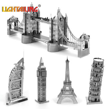 Nano DIY 3D architectural model building metal From educational toys for toddlers