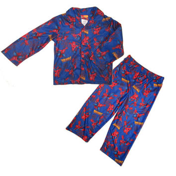 Spiderman Toddler Boys Coat Pajamas