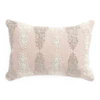 Made In India 14x20 Damask Pillow - Throw Pillows - T.J.Maxx