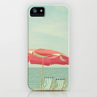 Deserted Beach iPhone & iPod Case by Cassia Beck